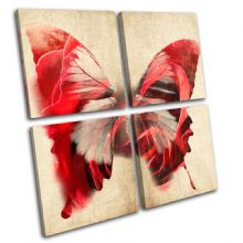 Butterfly Illustration - 13-0296(00B)-MP01-LO